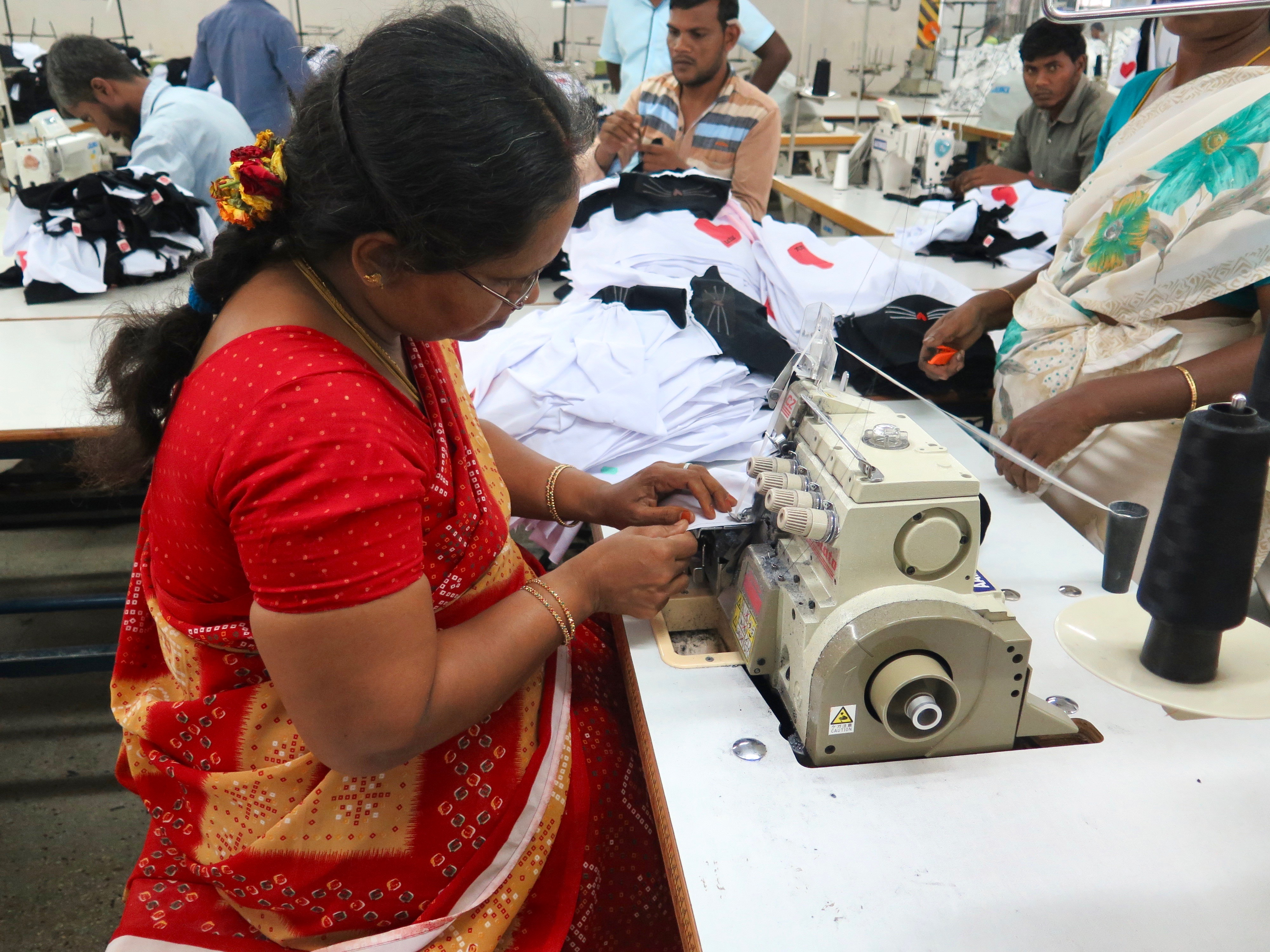 Garment workers forced to have sex